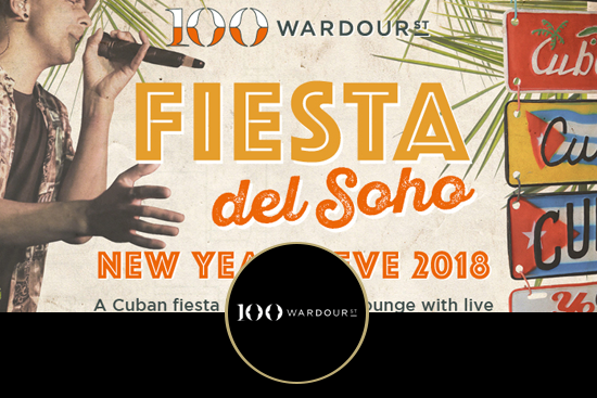 100 Wardour St New Years Eve