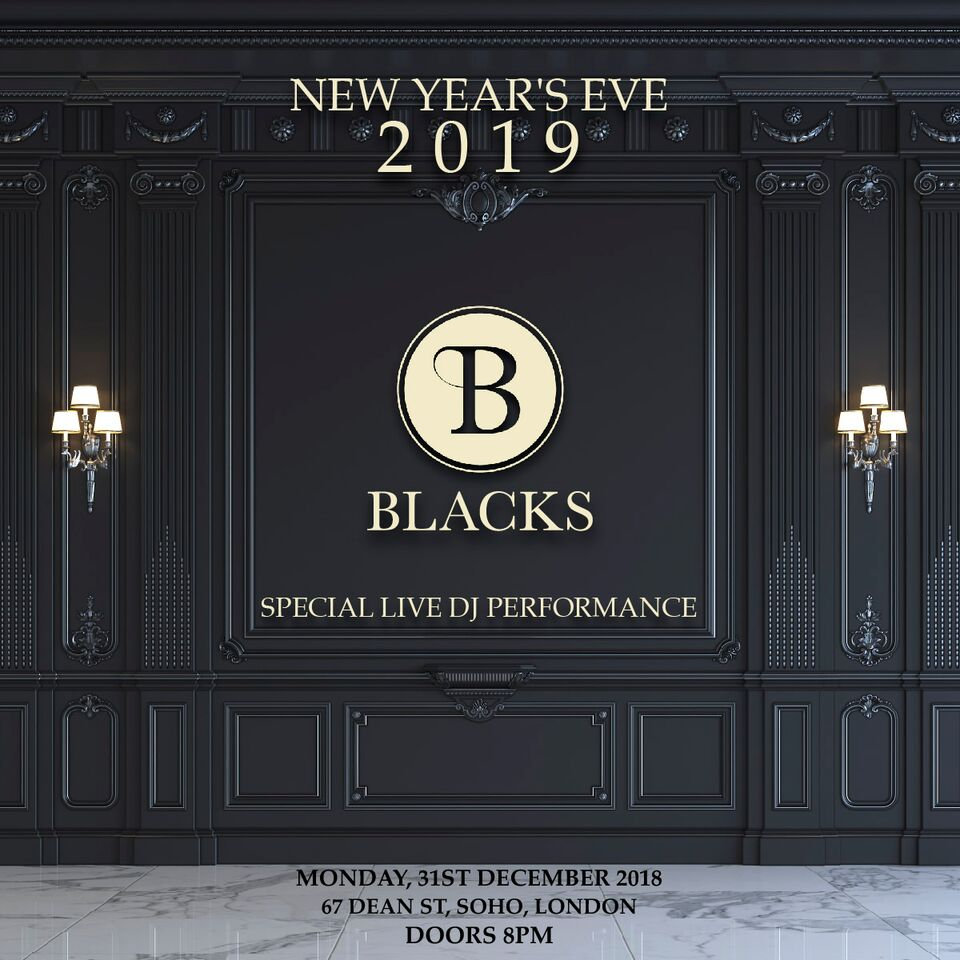 Blacks New Year's Eve