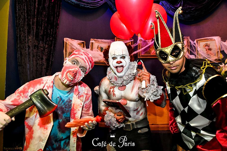 Cafe de Paris Halloween Party