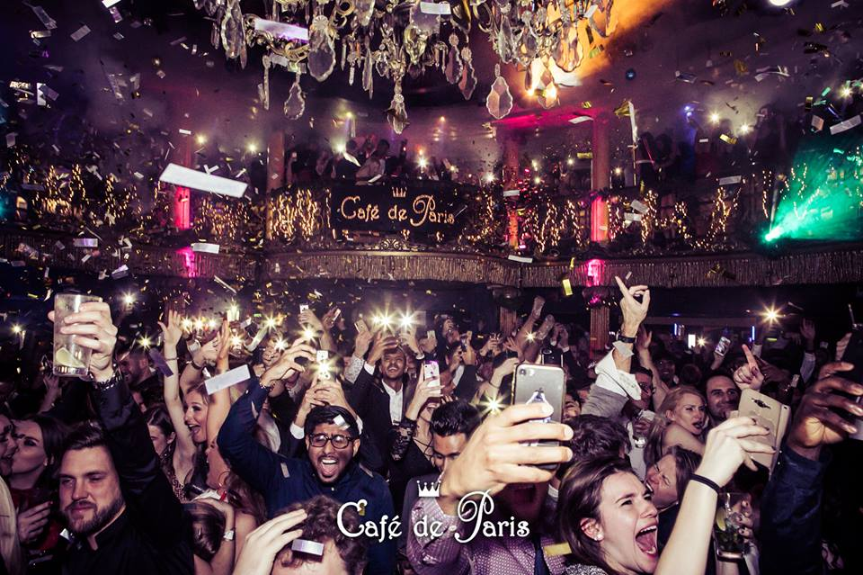 Cafe de Paris London Party