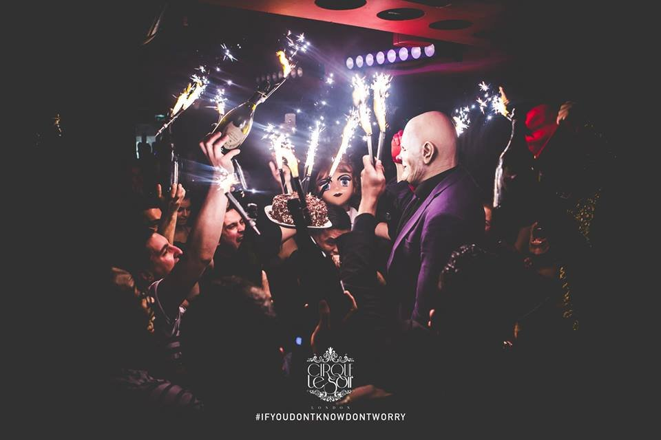 Cirque le Soir Birthday Celebration