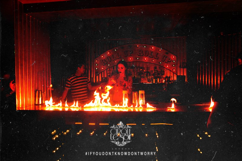 Fire Shows Cirque le Soir