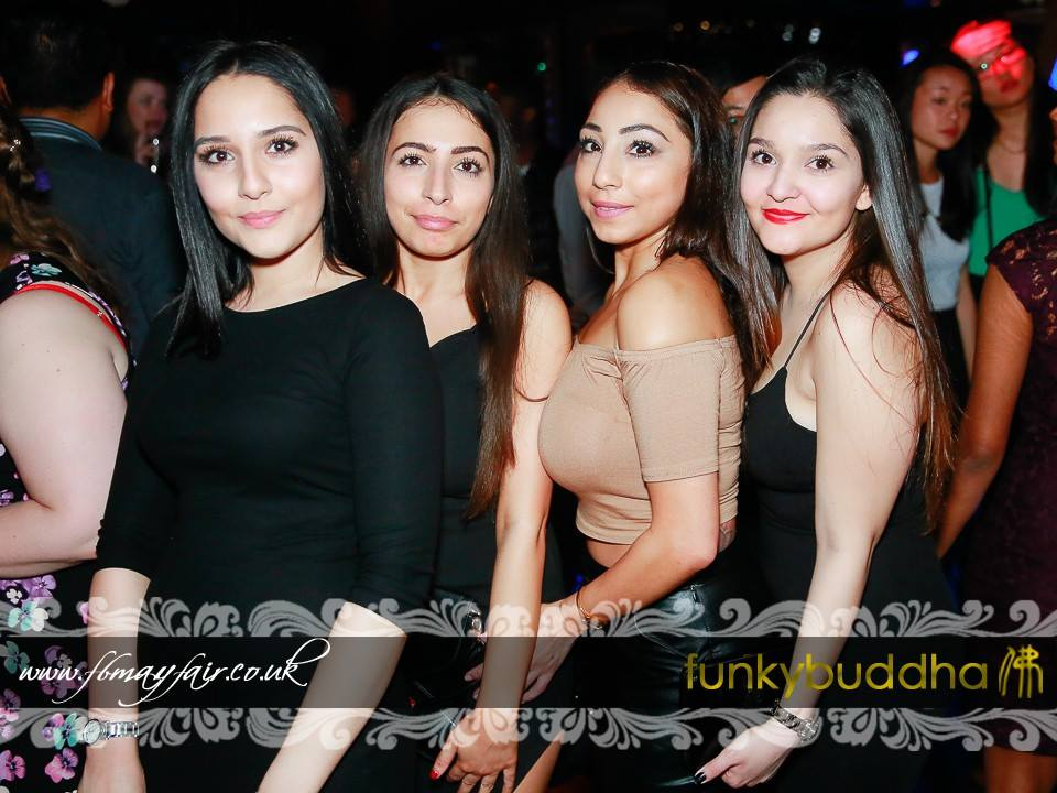 Funky Buddha London Parties