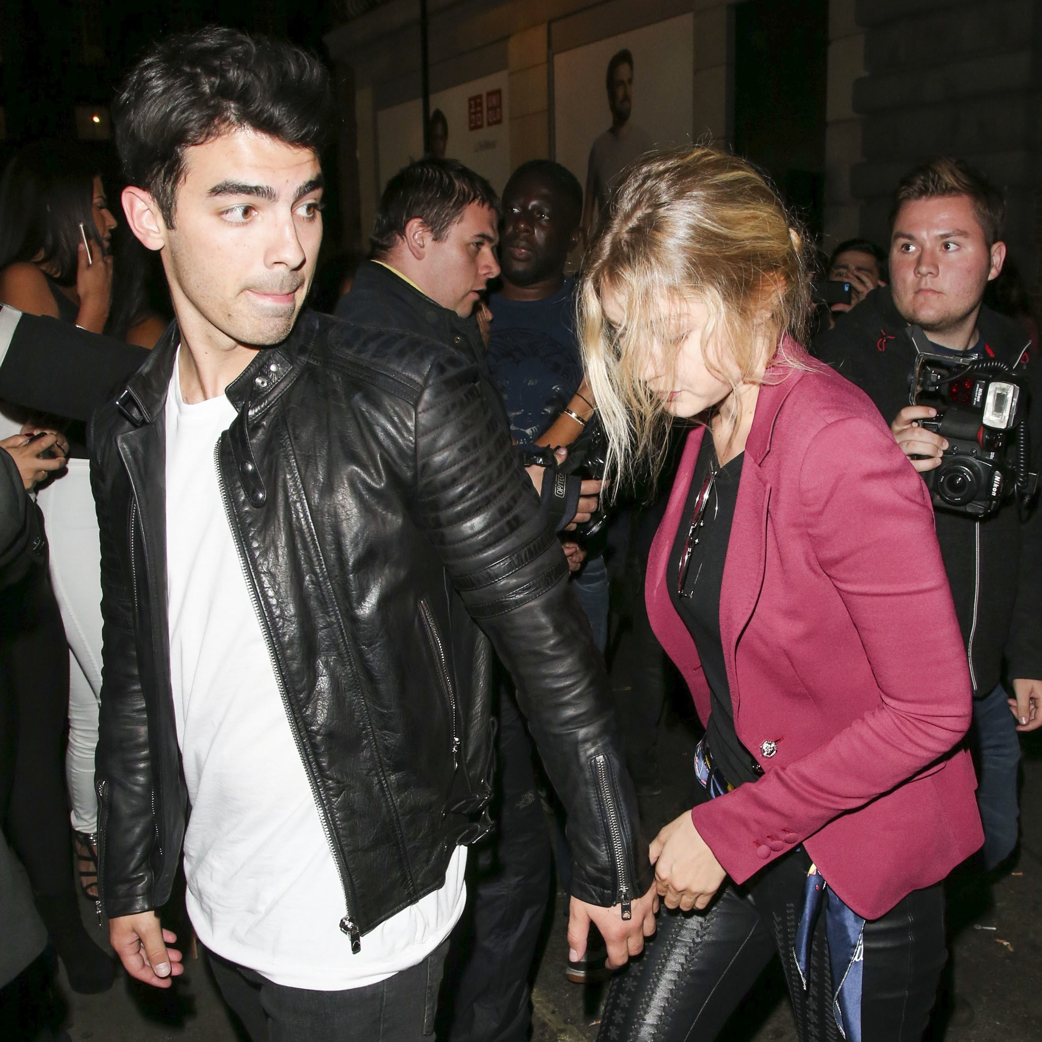 Joe Jonas & Gigi Hadid Libertine London