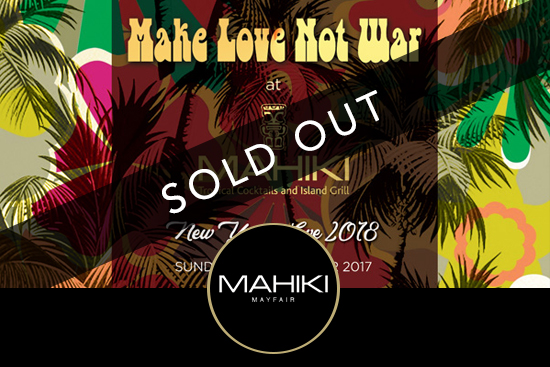 Mahiki Mayfair New Year's Eve