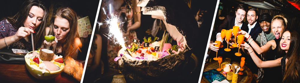 Mahiki Mayfair VIP Table