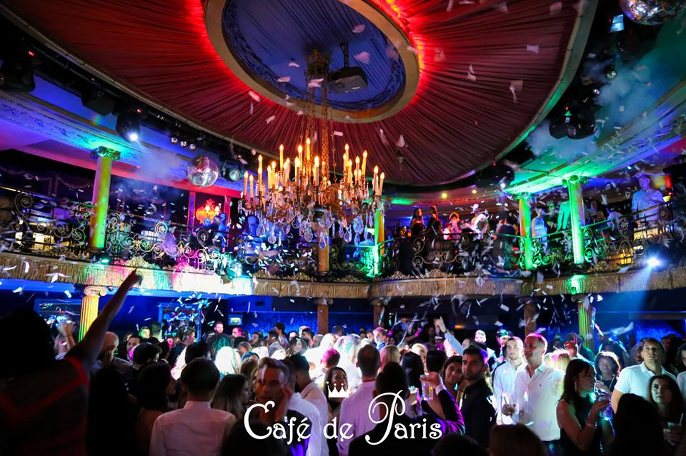 Cafe de Paris Party