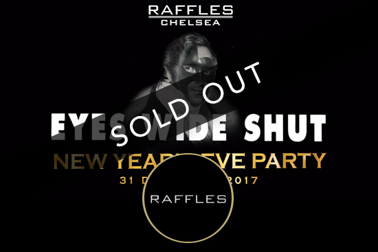 Raffles New Years Eve