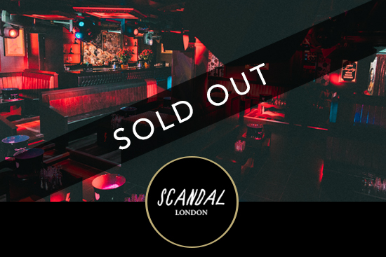Scandal New Years Eve London