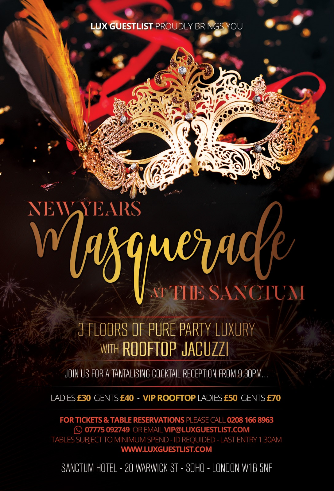 Sanctum New Years Eve